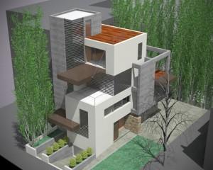 Triple Residence, Gerakas