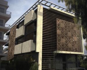 Facade design, Glyfada